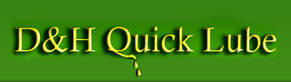 D & H Quick Lube Logo